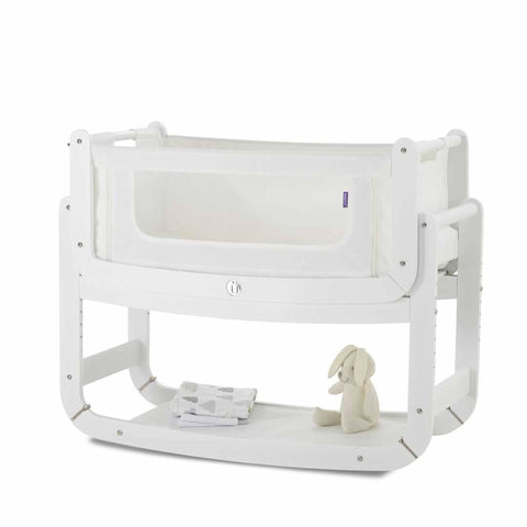 SnuzPod 2 with Mattress - Eco-White