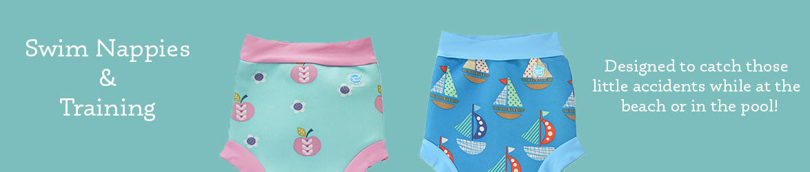 Swim Nappies & Training Banner