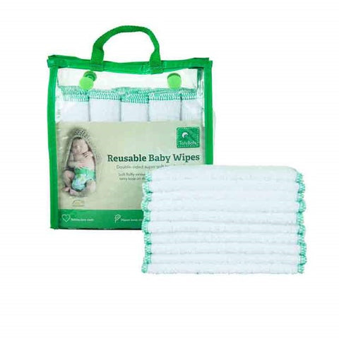 Totsbots Reusable Wipes Green parenting