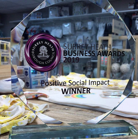 Natural Baby Shower wins Positive Social Impact award