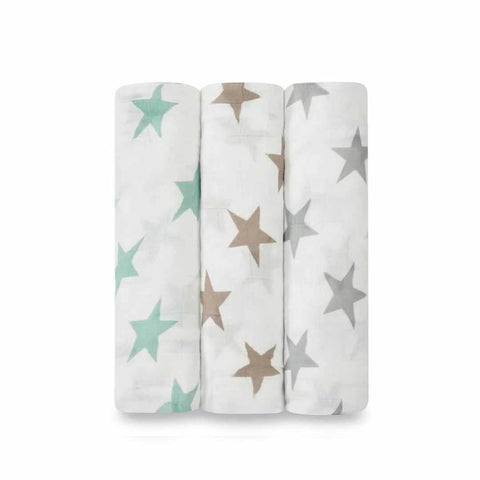 aden + anais Bamboo Swaddles - Milky Way - 3 Pack