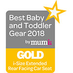 Best Baby & Toddler i-Size Extended Rear Facing Gold 2018