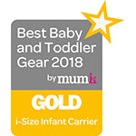 Best Baby & Toddler Gear Awards - iSize Infant Carrier - Gold 2018