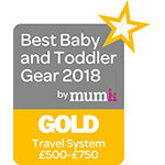 Best Baby & Toddler Travel Stroller over £500-£700 Gold 2018