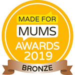 Made for Mums Award Bronze 2019
