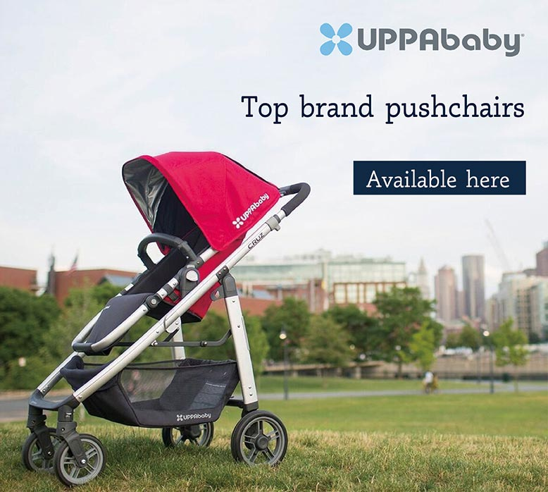 Top brand pushchairs - Uppababy