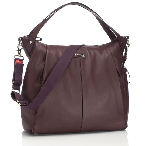 Storksak Catherine Leather Bordeaux