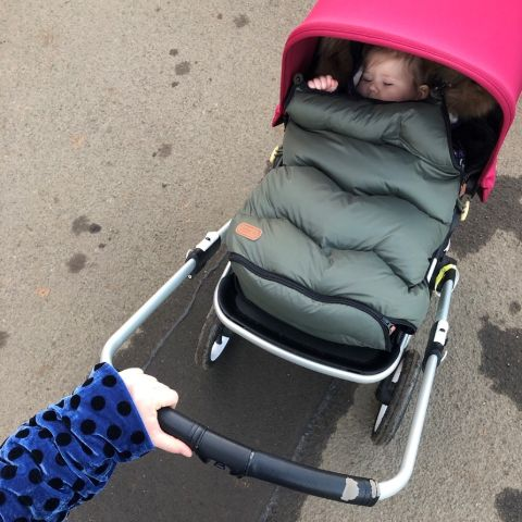 Parent Approved Review = Voksi Urban Footmuff
