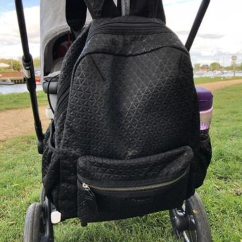 Parent Approved Review = Babymel Luna Ultra Lite Changing Bag