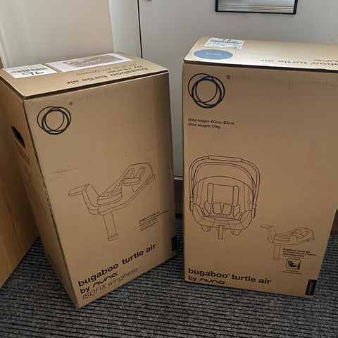 Parent Approved Review = Bugaboo Turtle Air 1