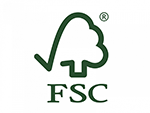 Label fsc sustainable wood