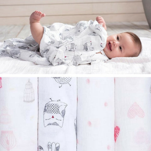 Lovebird swaddle collection