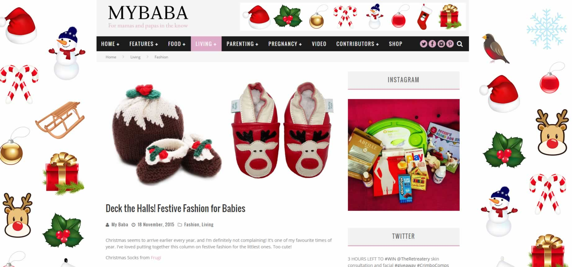 My Baba Parenting Blog - Festive Fashion for Babies