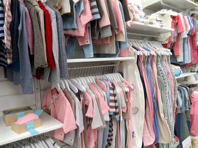 I was in Merino heaven… Such an impressive collection of merino, organic and ethically sourced clothes that make beautiful new baby gifts!
