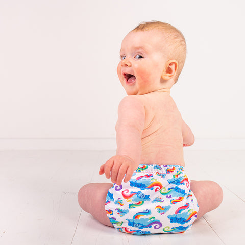 TotsBots make reusable nappies from plastic waste
