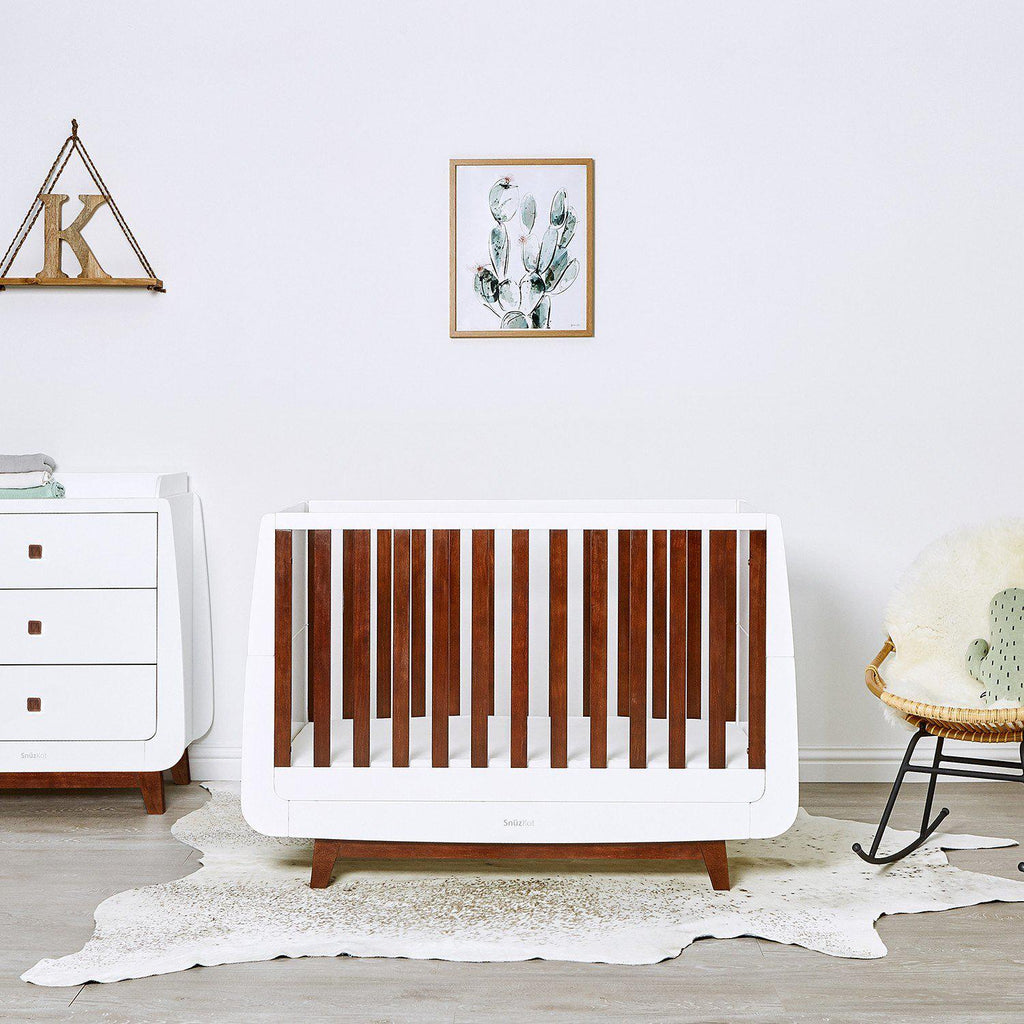 SnuzKot Luxe Changing Unit - Espresso-Changing Tables- Natural Baby Shower