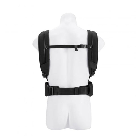 Cybex Yema Click Leather Baby Carrier - Stardust Black-Baby Carriers-Stardust Black- Natural Baby Shower