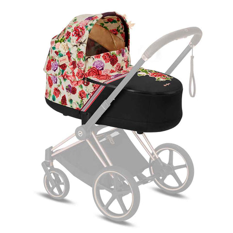 Cybex Priam Carrycot Lux - Spring Blossom Light-Carrycots- Natural Baby Shower