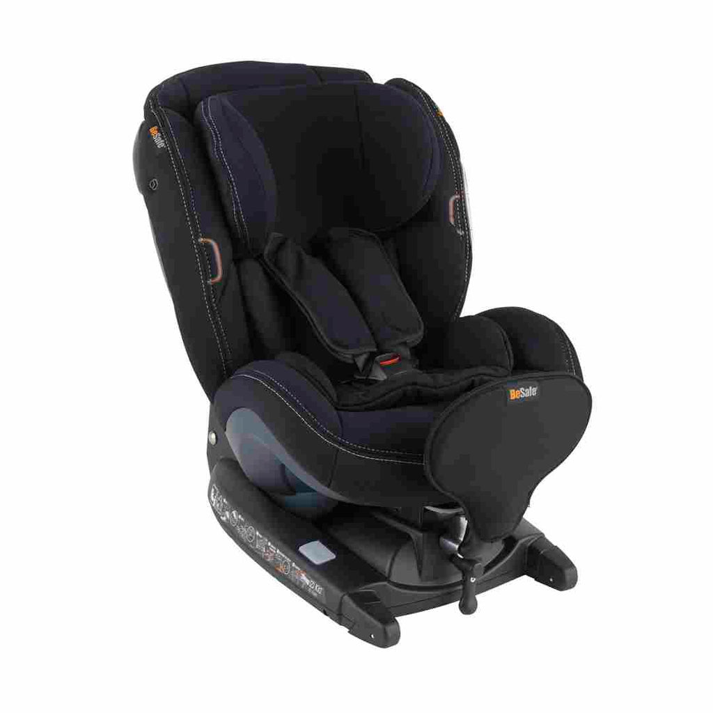 BeSafe iZi Kid X3 i-Size Car Seat - Premium Car Interior Black-Car Seats- Natural Baby Shower