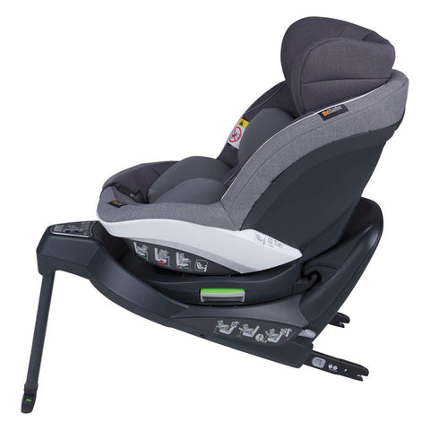 BeSafe iZi Turn i-Size Car Seat - Metallic Melange-Car Seats- Natural Baby Shower