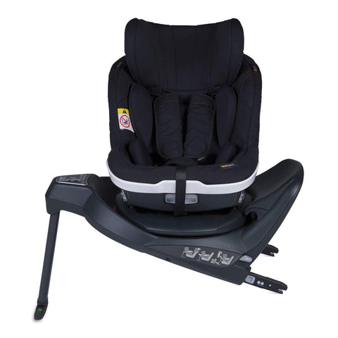 BeSafe iZi Twist i-Size Car Seat - Fresh Black Cab-Car Seats- Natural Baby Shower
