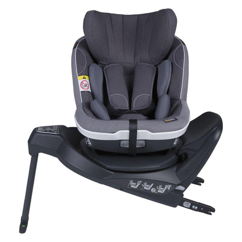 BeSafe iZi Twist i-Size Car Seat - Metallic Melange-Car Seats- Natural Baby Shower
