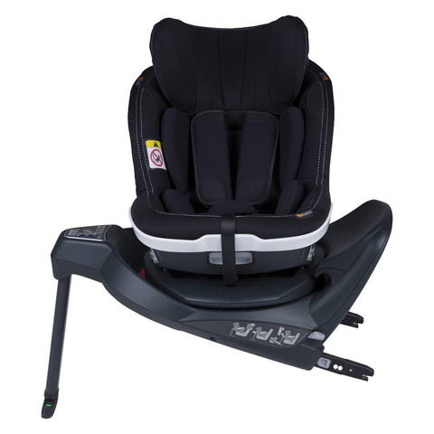BeSafe iZi Twist i-Size Car Seat - Premium Car Interior Black-Car Seats- Natural Baby Shower