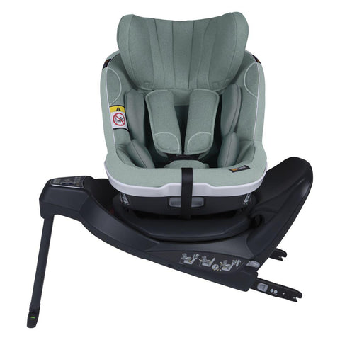 BeSafe iZi Twist i-Size Car Seat - Sea Green Melange-Car Seats- Natural Baby Shower