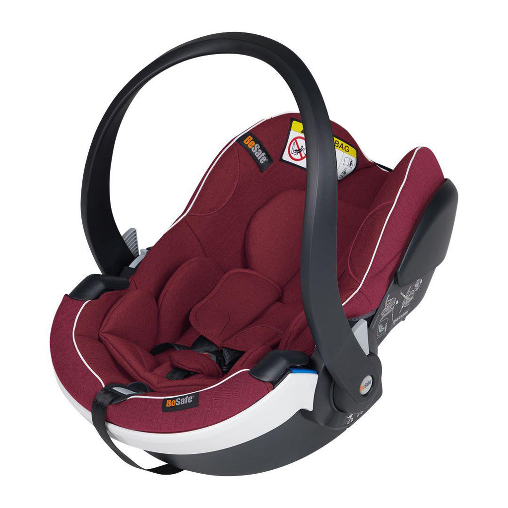 BeSafe iZi Go Modular X1 i-Size Car Seat - Burgundy Melange-Car Seats- Natural Baby Shower