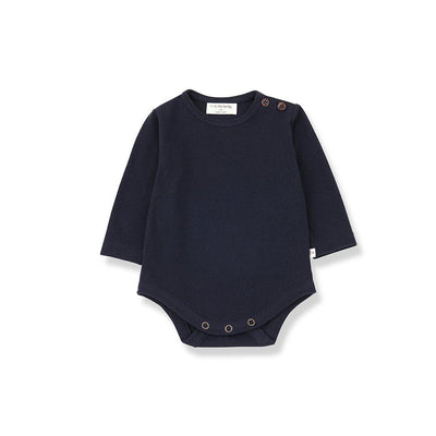 1+ in the family Astun Body - Blue Notte-Bodysuits- Natural Baby Shower