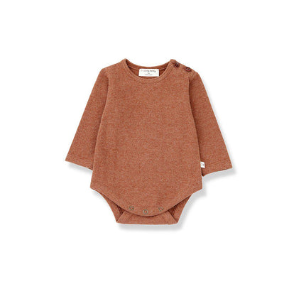1+ in the family Astun Body - Toffee-Bodysuits- Natural Baby Shower