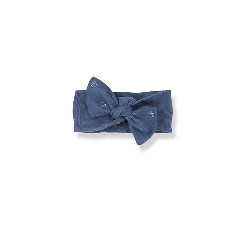 1+ in the family Gozo Bandeau - Azzurro-Headbands- Natural Baby Shower