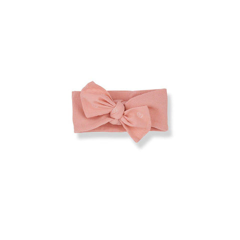 1+ in the family Gozo Bandeau - Rose-Headbands- Natural Baby Shower
