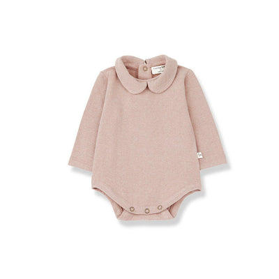 1+ in the family Maladeta Body - Rose-Bodysuits- Natural Baby Shower