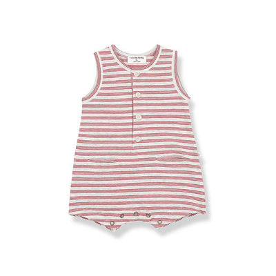 1+ in the family Maxime Romper - Red-Rompers- Natural Baby Shower