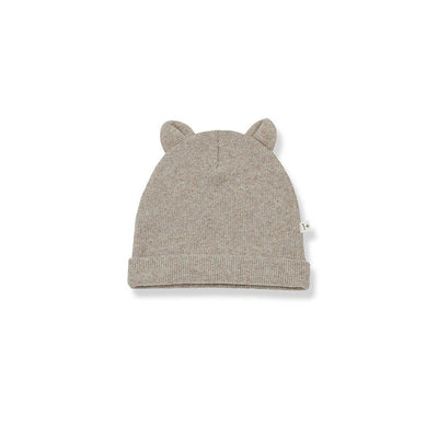 1+ in the family Mull Beanie - Beige-Hats- Natural Baby Shower