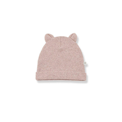1+ in the family Mull Beanie - Rose-Hats- Natural Baby Shower