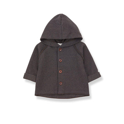 1+ in the family Sau Hood Jacket - Terrau-Hoodies- Natural Baby Shower