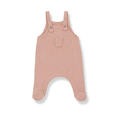 1+ in the family Sort Overalls - Rose-Dungarees- Natural Baby Shower