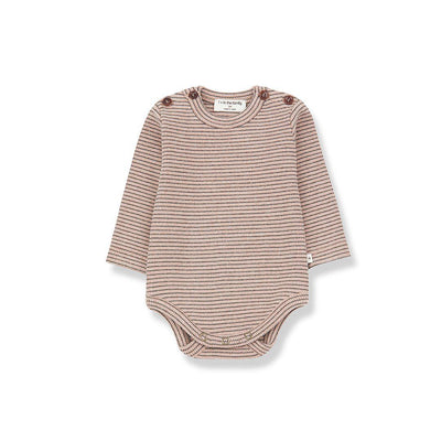 1+ in the family Whistler Body - Rose/Terrau-Bodysuits- Natural Baby Shower