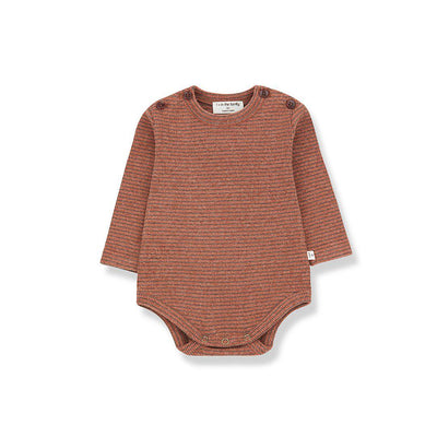 1+ in the family Whistler Body - Toffee/Terrau-Bodysuits- Natural Baby Shower