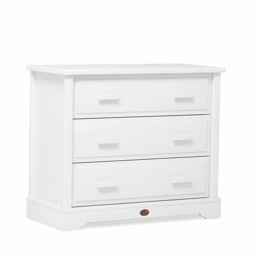 Boori Eton Expandable 3 Piece Nursery Set Dresser in White