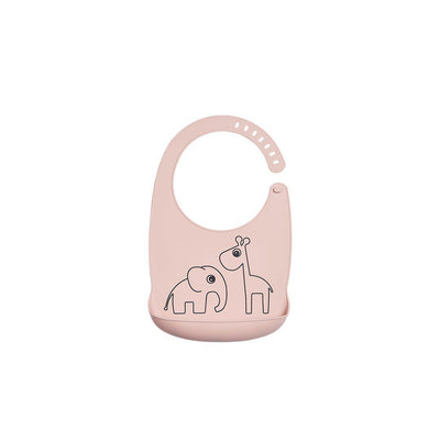 Done by Deer Silicone Bib - Deer Friends - Powder-Bibs-Powder- Natural Baby Shower