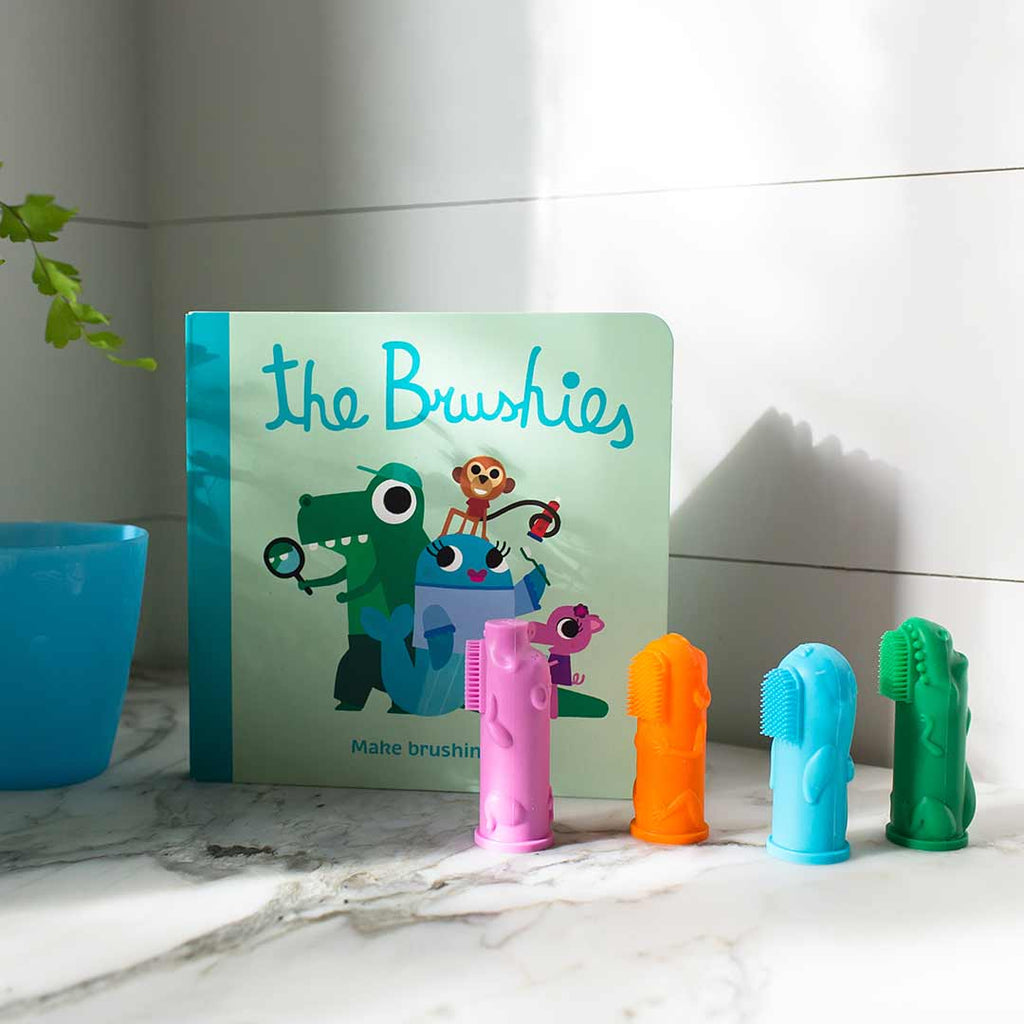 The Brushies Gift Set-Gift Sets- Natural Baby Shower