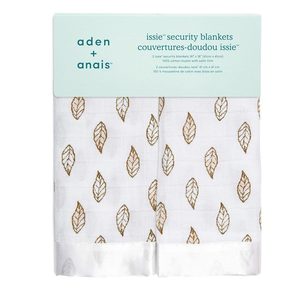 aden + anais Issie Security Blanket - Dahlia - 2 Pack-Blankets- Natural Baby Shower