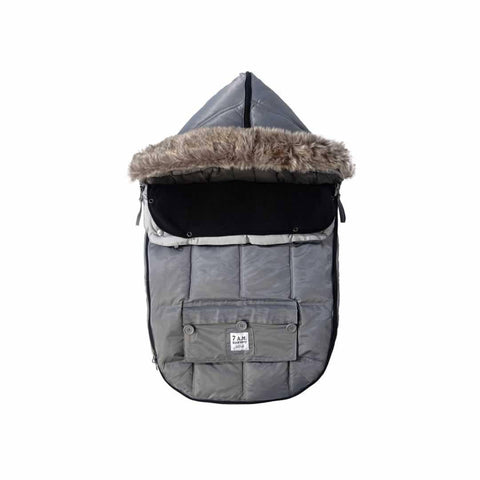 7 AM Le Sac Igloo Footmuff in Grey