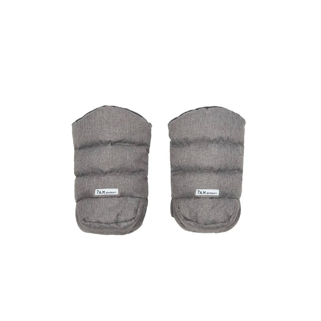 7 AM WarMMuffs Hand Warmers in Heather Grey