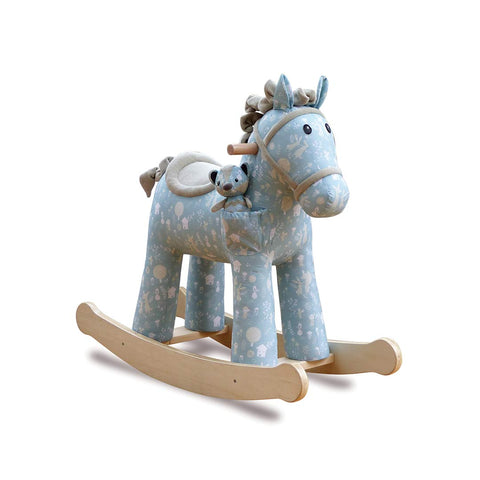 A Little Bird Told Me - Finn & Munchkin Rocking Horse-Ride-on & Rockers-Default- Natural Baby Shower