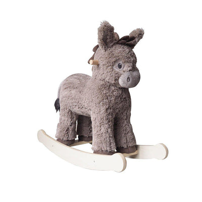 A Little Bird Told Me - Norbert Rocking Donkey - Ex-Display-Ride-on & Rockers-Default- Natural Baby Shower