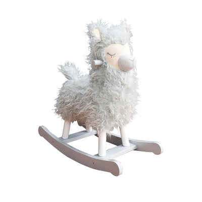 A Little Bird Told Me - Rio Rocking Llama-Ride-on & Rockers-Default- Natural Baby Shower